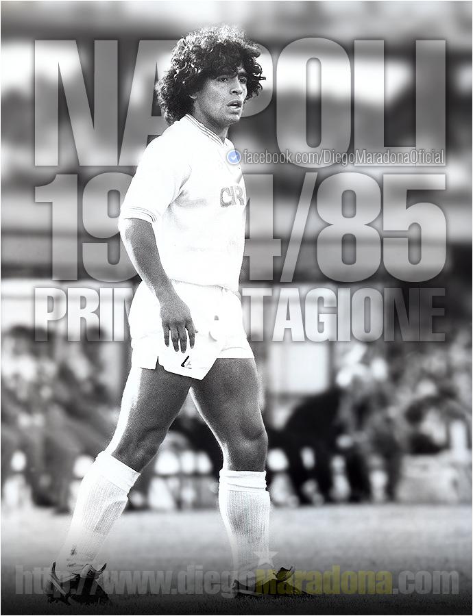 """Maradona non dimentica: """"Un giorno come oggi debuttavo in A col Napoli a 23 anni"""""""
