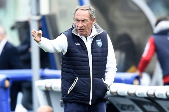 """Pescara, Zeman: """"Fare 0-0 o 0-1 non mi piace, preferisco prendere gol e farne più degli altri"""""""