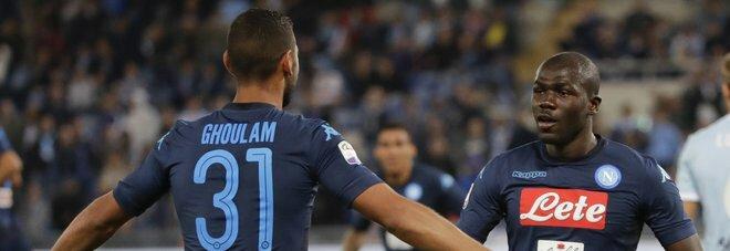 LE PAGELLE DEGLI AZZURRI: Lazio-Napoli 1-4, Mertensdona e poi il duo fantasia Insigne-Callejon fa il resto