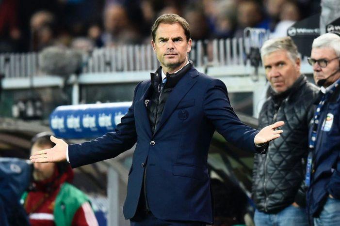 Crystal Palace, esonerato De Boer: il comunicato