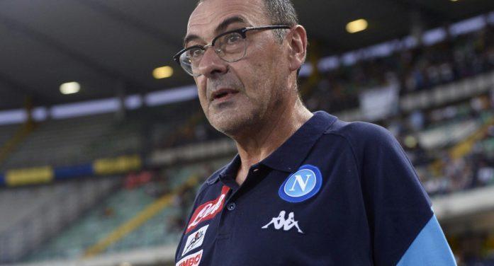 "Napoli, Sarri: ""Bravi a reagire. Milik? Era impaurito"""