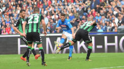 PHOTO GALLERY: 29-10-2017 Napoli vs Sassuolo