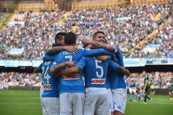 Napoli, sono 11 i punti in più rispetto allo scorso campionato