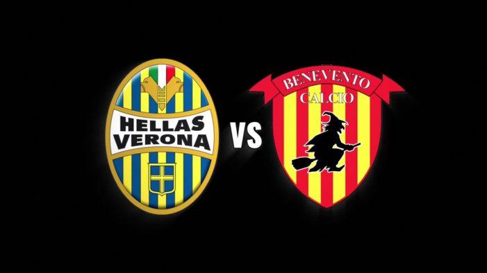 Verona- Benevento 1-0: gli stregoni sprofondano negli abissi, ottava sconfitta consecutiva. Decide un gol di Romulo