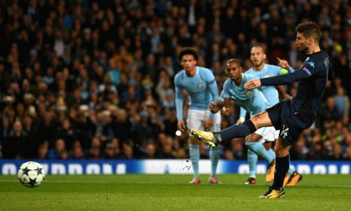 LE PAGELLE DEGLI AZZURRI: Manchester City-Napoli 2-1, Ghoulam si conferma in sfavillante condizione, che ingresso per Ounas