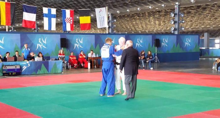 EPYG Liguria 2017: primo oro per l'Italia dal Judo con Simone Cannizzaro