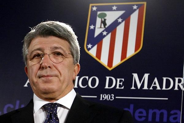 """Enrique Cerezo (Pres. Altletico Madrid):  """"Al gol annullato di Morata sono andato via dallo stadio, chiedo scusa ad Agnelli, la la Var non mi piace"""""""