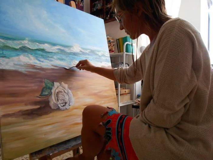 Rossella Baldino: I colori del mare nella sua anima!