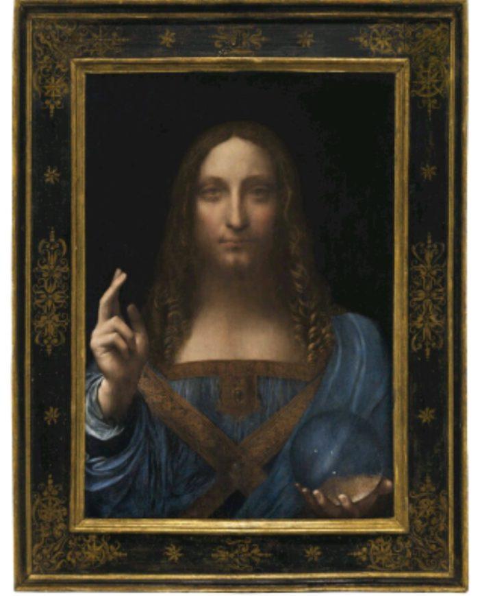 """Leonardo da record, il patron del Monaco vende il """"Salvator Mundi"""" per 450 milioni"""