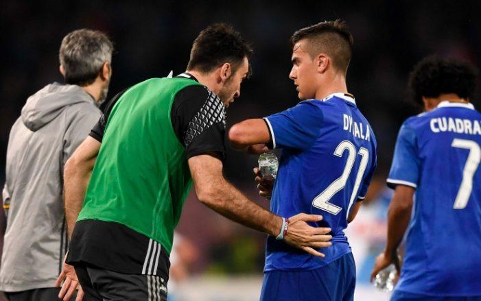 """Dybala ai compagni: """"Ho tifato e sofferto per voi"""""""