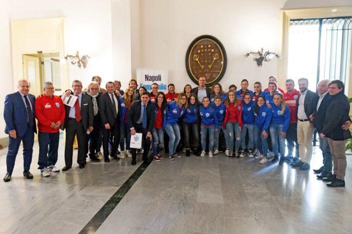 Presentato a Palazzo San Giacomo il Napoli Femminile