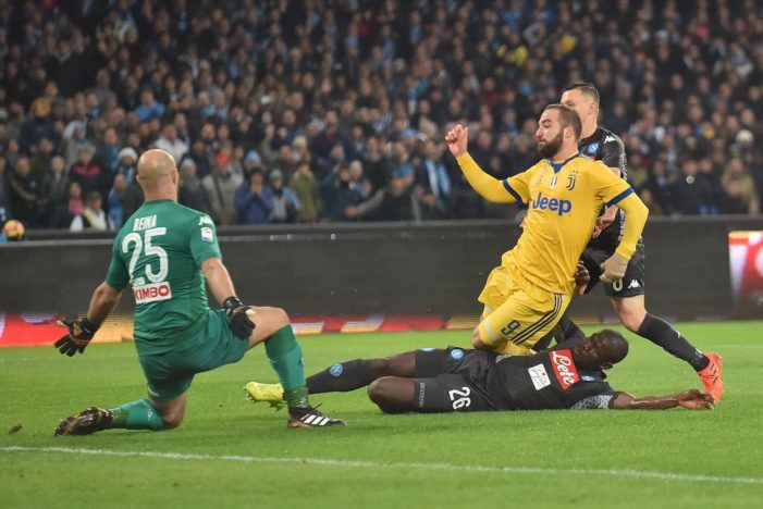 PHOTO GALLERY: 1-12-2017 Napoli vs Juventus