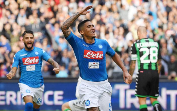 LA PARTITA – Napoli-Spal 1-0, Allan decide il match