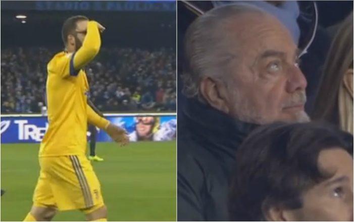 Higuain gol l 39 esultanza fa discutere video for Discutere it