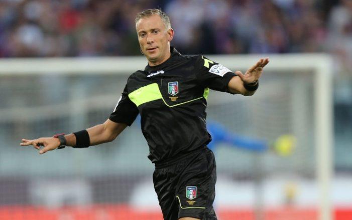 Juventus-Inter a Valeri, Fabbri per il Napoli
