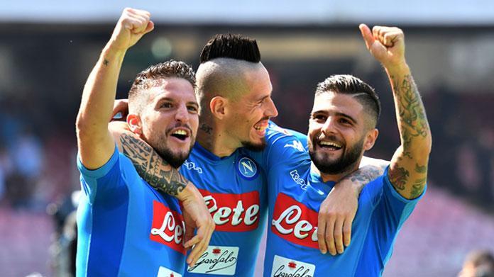LE PAGELLE DEGLI AZZURRI: Napoli-Samp 3-2, Allan un mostro, Hysaj e Mario Rui disastrosi