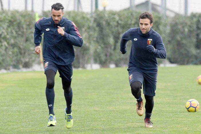 Genoa, primo allenamento per Pepito Rossi
