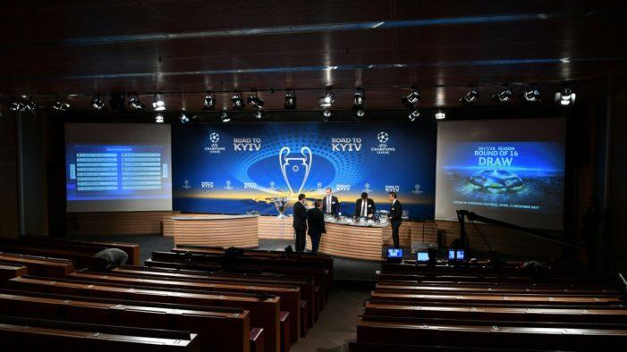 Sorteggio ottavi Champions League: Juventus – Tottenham e Shakhtar-Roma