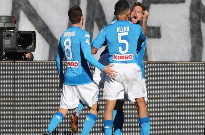 LE PAGELLE DEGLI AZZURRI: Atalanta-Napoli 0-1, Allan mostruoso, finalmente Mertens