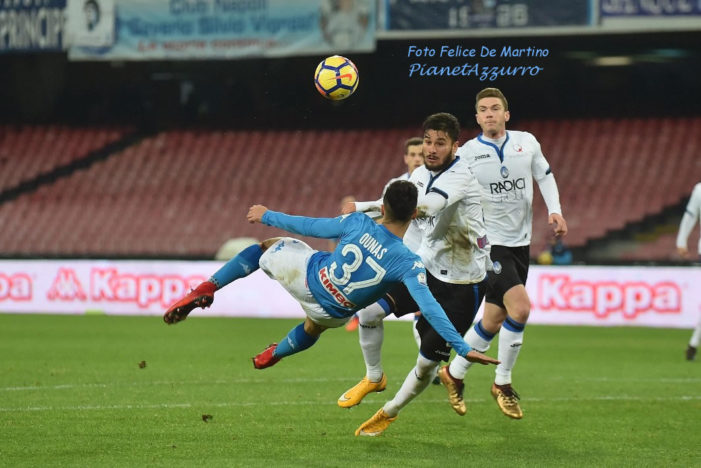 PHOTO GALLERY: 2-1-2018 Napoli vs Atalanta
