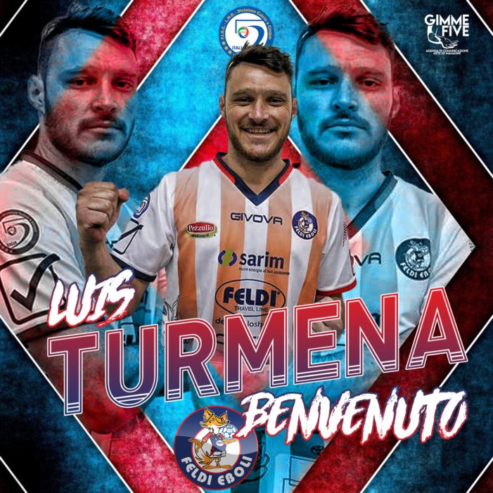 CALCIO A 5 – Luis Turmena è un nuovo giocatore della Feldi Eboli