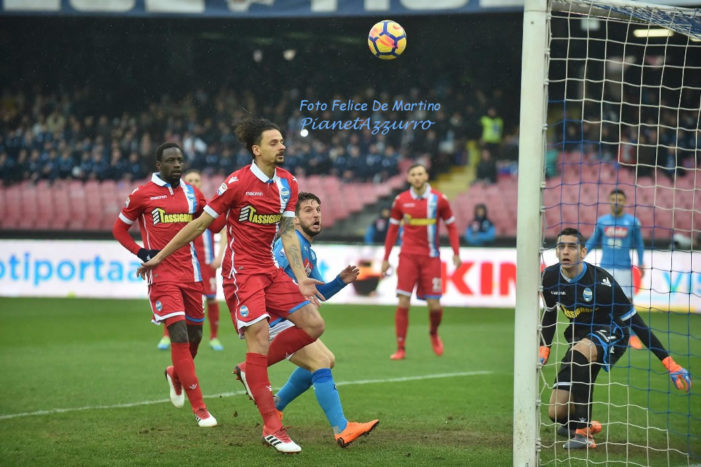 PHOTO GALLERY: 18-2-2018 Napoli vs Spal