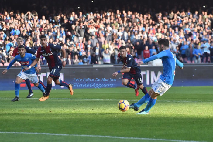 PHOTO GALLERY: 28-1-2018 Napoli vs Bologna