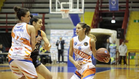 La Saces Mapei Givova vince a Torino e chiude la prima fase al quarto posto