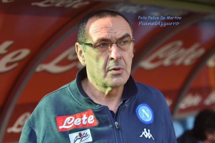 """Sarri: """"La squadra e i tifosi sono maturi: Napoli non soffre di vertigini"""""""