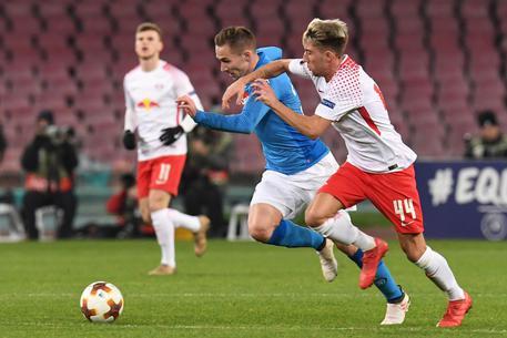 LA PARTITA: Napoli-Lipsia 1-3, azzurri con la testa altrove