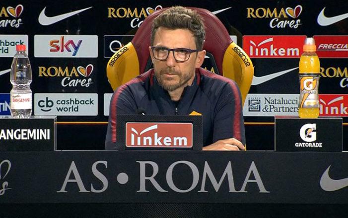 """Di Francesco: """"Schick e Defrel sono pronti"""""""