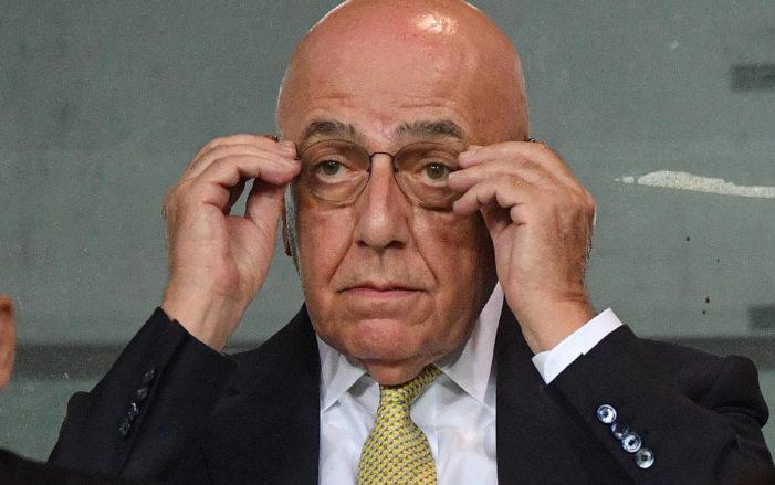 """Galliani: """"Gattuso? Lo chiusi nella sala trofei"""""""