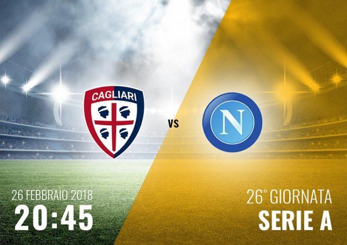L'avversario: il Cagliari in terra sarda nel monday night del ventiseiesimo turno di serie A
