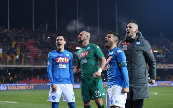 LA PARTITA – Cagliari-Napoli 0-5, manita azzurra in Sardegna