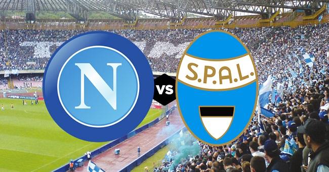 Anteprima partita Napoli vs Spal