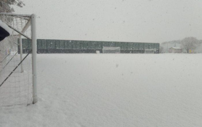 Castel Volturno ricoperta dalla neve: annullato l'allenamento mattutino del Napoli