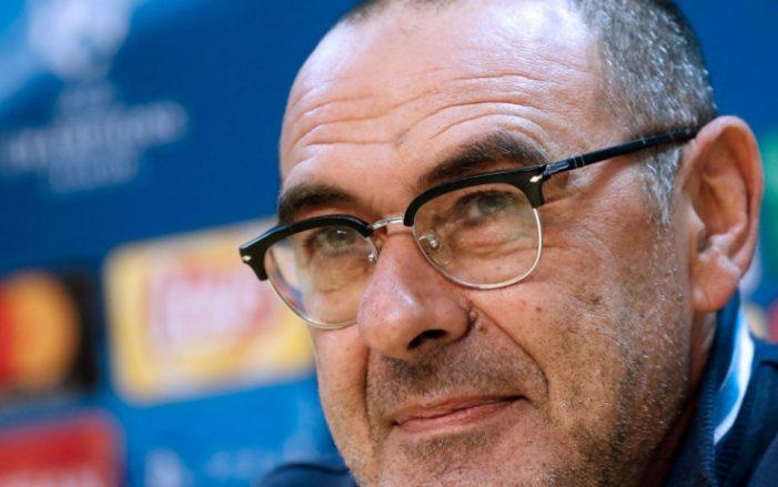 """Sarri: """"Per fare il salto di qualità bisogna essere competitivi in Italia e in Europa"""""""