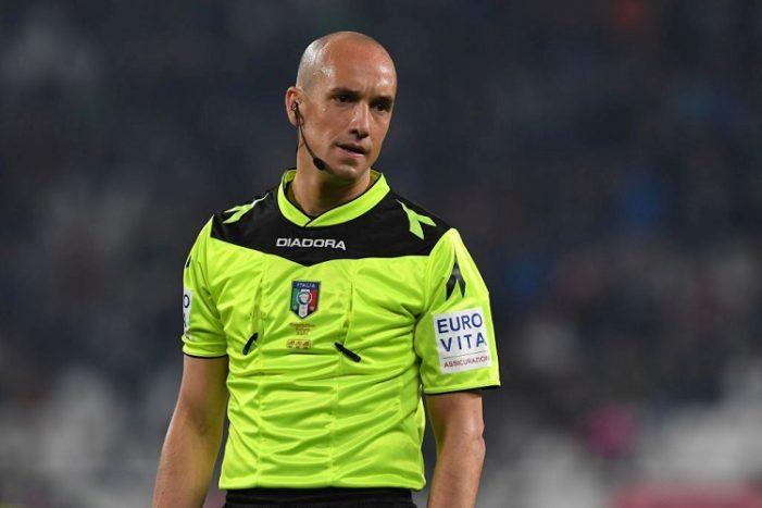 Il Fischietto di Napoli vs Fiorentina: Fabbri di Ravenna