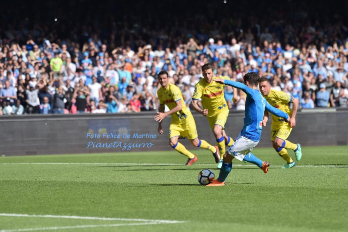 PHOTO GALLERY: 8-4-2018 Napoli vs Chievo