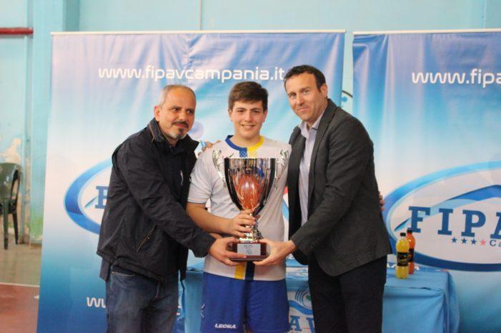 PALLAVOLO – Final Four U14 maschile, il Volley Meta è campione
