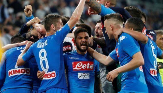 Serie A, quote scudetto: Juve ko, lo scudetto al Napoli crolla da 6,00 a 2,00