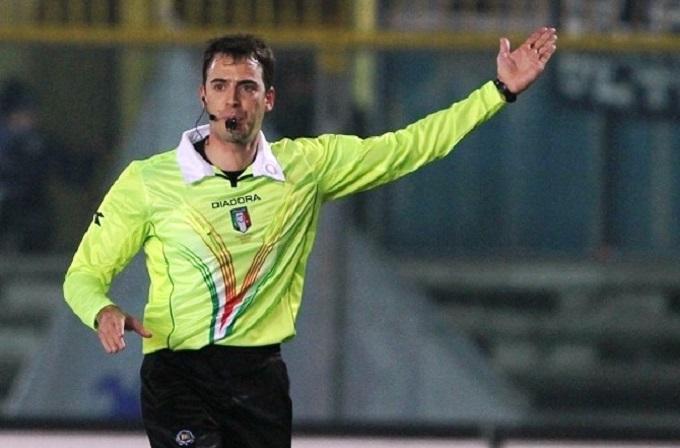 Il fischietto di Sampdoria vs Napoli: Gavillucci di Latina