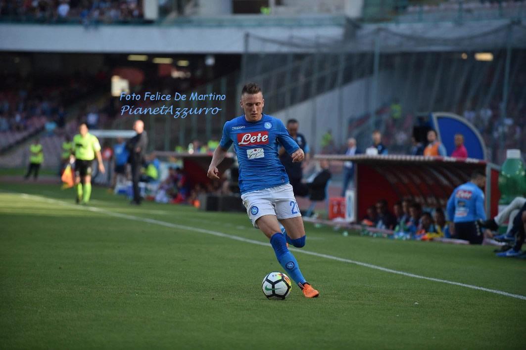 """Zielinsky: """"Contenti per la vittoria, partita non era facile"""""""