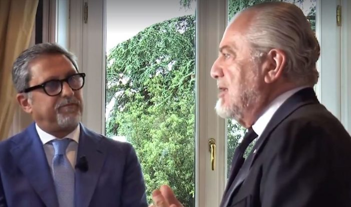 VIDEO – Intervista al Presidente Aurelio De Laurentiis