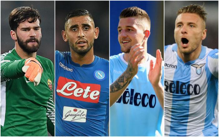 Serie A, la top 10 per media voto: regna Immobile