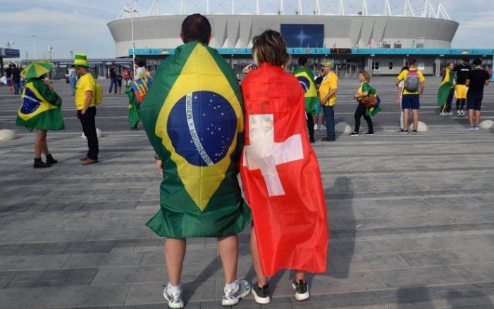 Brasile-Svizzera LIVE: le formazioni ufficiali