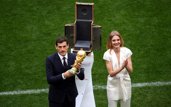 La cerimonia d'apertura del mondiale in diretta