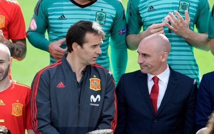 RUSSIA 2018 – Clamoroso, la Spagna ha esonerato il ct Lopetegui. Squadra affidata a Hierro