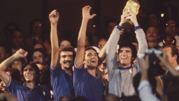 35 anni fa l'Italia vinceva i campionati del mondo