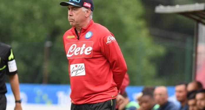 """Napoli-Gozzano 4-0, Ancelotti: """"La punta? Non sono affari vostri"""""""